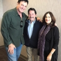 ellyn and i with peter cullen