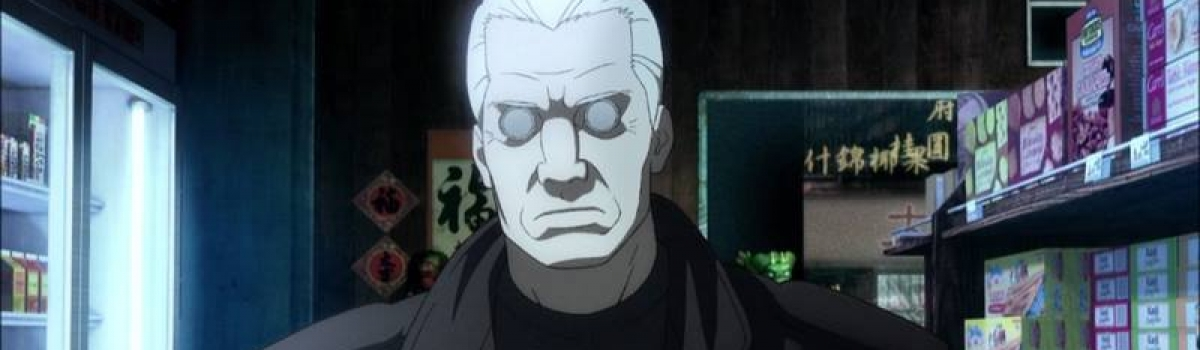 Voice of Batou in Ghost in the Shell