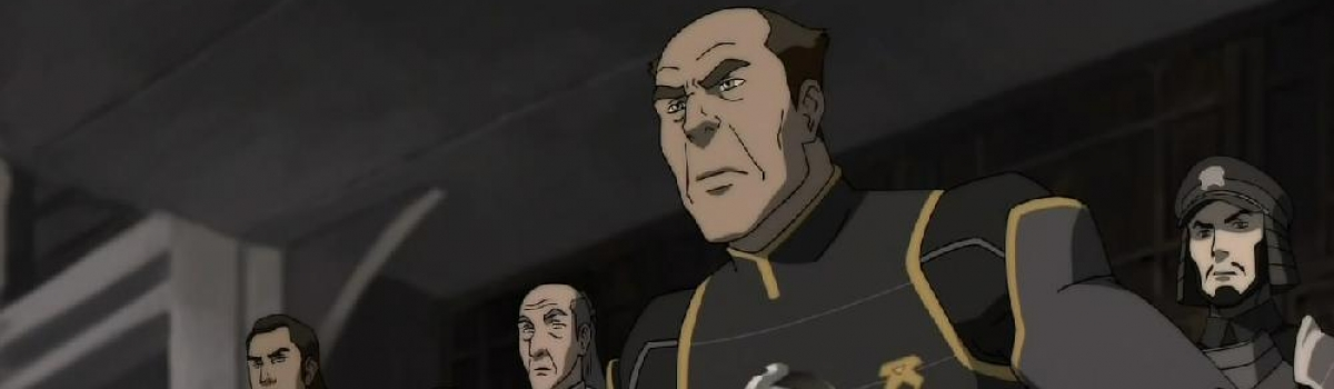 Voice of Chief Saikhan in Legend of Korra