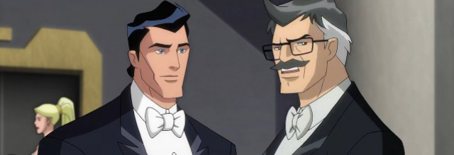 Voice of Commissioner Gordon in the film series Batman Unlimited